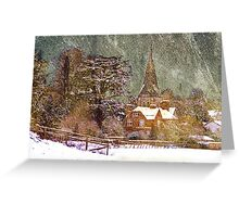 All Hallows: Whitchurch Greeting Card