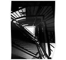 Dark Stairwell Poster
