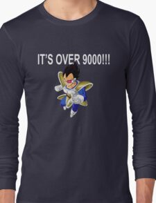 It's Over 9000! Long Sleeve T-Shirt