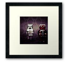 The robots Framed Print