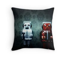 The robots Throw Pillow