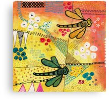 Flight of the Dragonfly Canvas Print