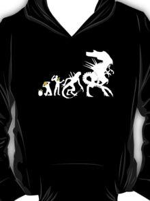 Alien Evolution - Mens Funny T-Shirt