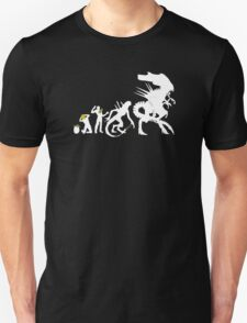 Alien Evolution - Mens Funny T-Shirt