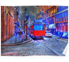 Milan Trolley #2 Poster