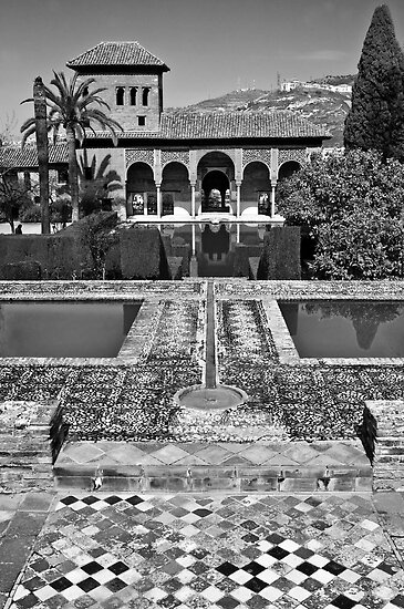 The Alhambra (Partal Palace) by Stephen Knowles