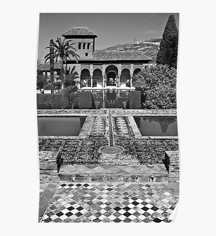 The Alhambra (Partal Palace) Poster