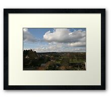 Sunny Day in Stocksfield - Northumberland Framed Print