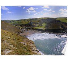Cornwall: Crackington Haven Poster