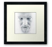 High Key Horror Framed Print