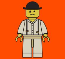 Lego Minifig Alex DeLarge - A Clockwork Orange by benthos