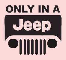 ONLY IN A JEEP One Piece - Short Sleeve
