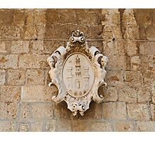 Coat of Arms 2 Photographic Print