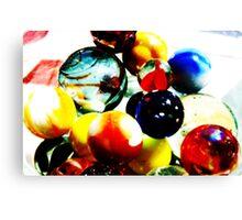 Found my marbles Canvas Print