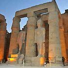 Luxor Temple by neil harrison