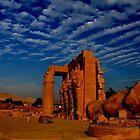 Ramesseum by neil harrison