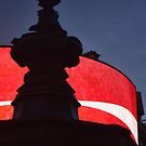 Picadilly Circus Signage at Night by Guy Carpenter