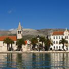 Trogir  Waterfront by Lee d'Entremont