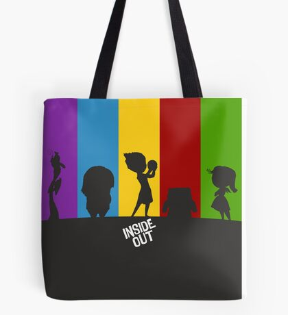 Inside Out of Emotions Tote Bag