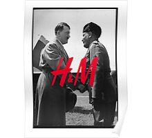 HM hand shake Poster