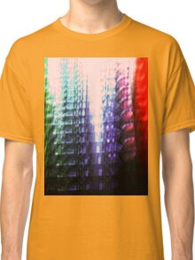 Coloured Skyscrapers Classic T-Shirt