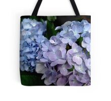 Hydrangeas, Blue and Lavender Tote Bag