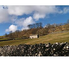Dales Barn in Spring Time Photographic Print