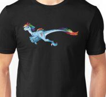 Raptor Rainbow Dash Unisex T-Shirt