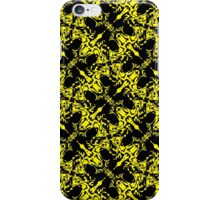 Abstract Fly pattern iPhone Case/Skin