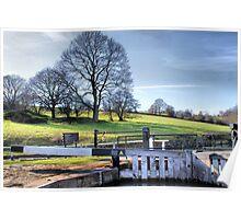 Dobson Locks At Apperley Bridge Poster