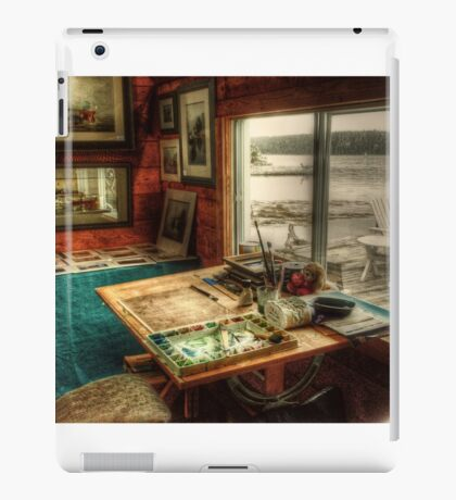 Artists Studio Nova Scotia iPad Case/Skin