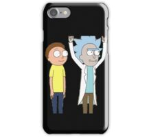 Tiny Rick and Morty iPhone Case/Skin