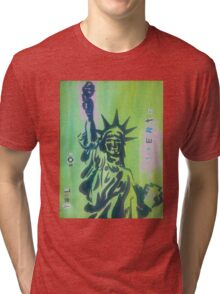 Yell for Liberty Tri-blend T-Shirt