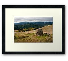 Loan Rock Framed Print