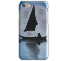 Moon Boat iPhone Case/Skin