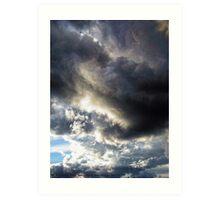 Chasing the Storm 2 Art Print