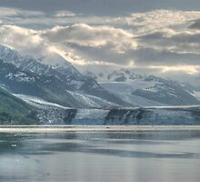 what is left of College Fiord Glacier by KathleenRinker