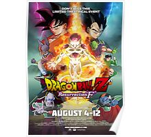 Dragon Ball Z - Ressurection 'F' Poster