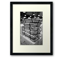 Razorclams At The Mercabarna Framed Print