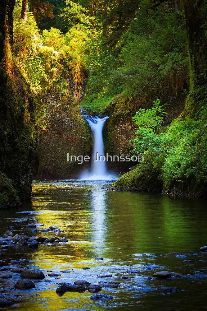 Punchbowl Falls by Inge Johnsson
