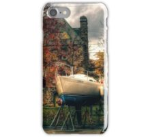 Wintering Boats in Baddeck Cape Breton Island Nova Scotia Canada iPhone Case/Skin
