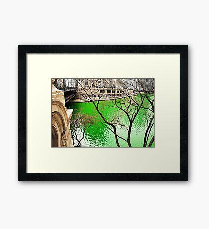Green River Framed Print