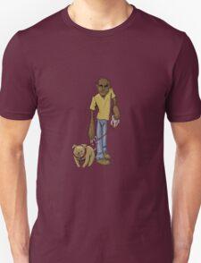 Wolfman Walking Dog T-Shirt