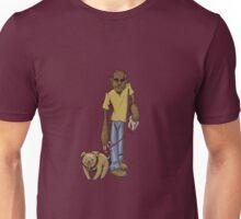 Wolfman Walking Dog Unisex T-Shirt