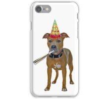 Pit Bull Birthday iPhone Case/Skin