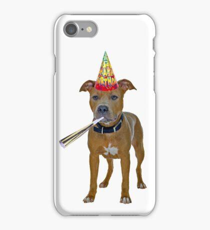 Pit Bull Birthday iPhone Case/Skin