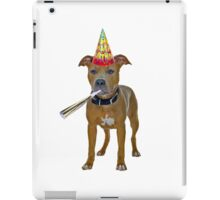 Pit Bull Birthday iPad Case/Skin