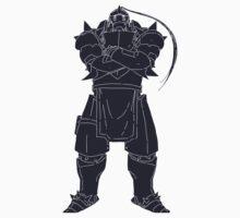 Alphonse Elric One Piece - Short Sleeve