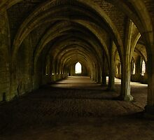 Fountains Abbey II by eishka