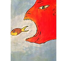 Fish and the Creature  Photographic Print